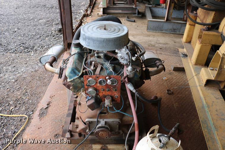 Ford 428 C I D  eight cylinder propane irrigation engine   I