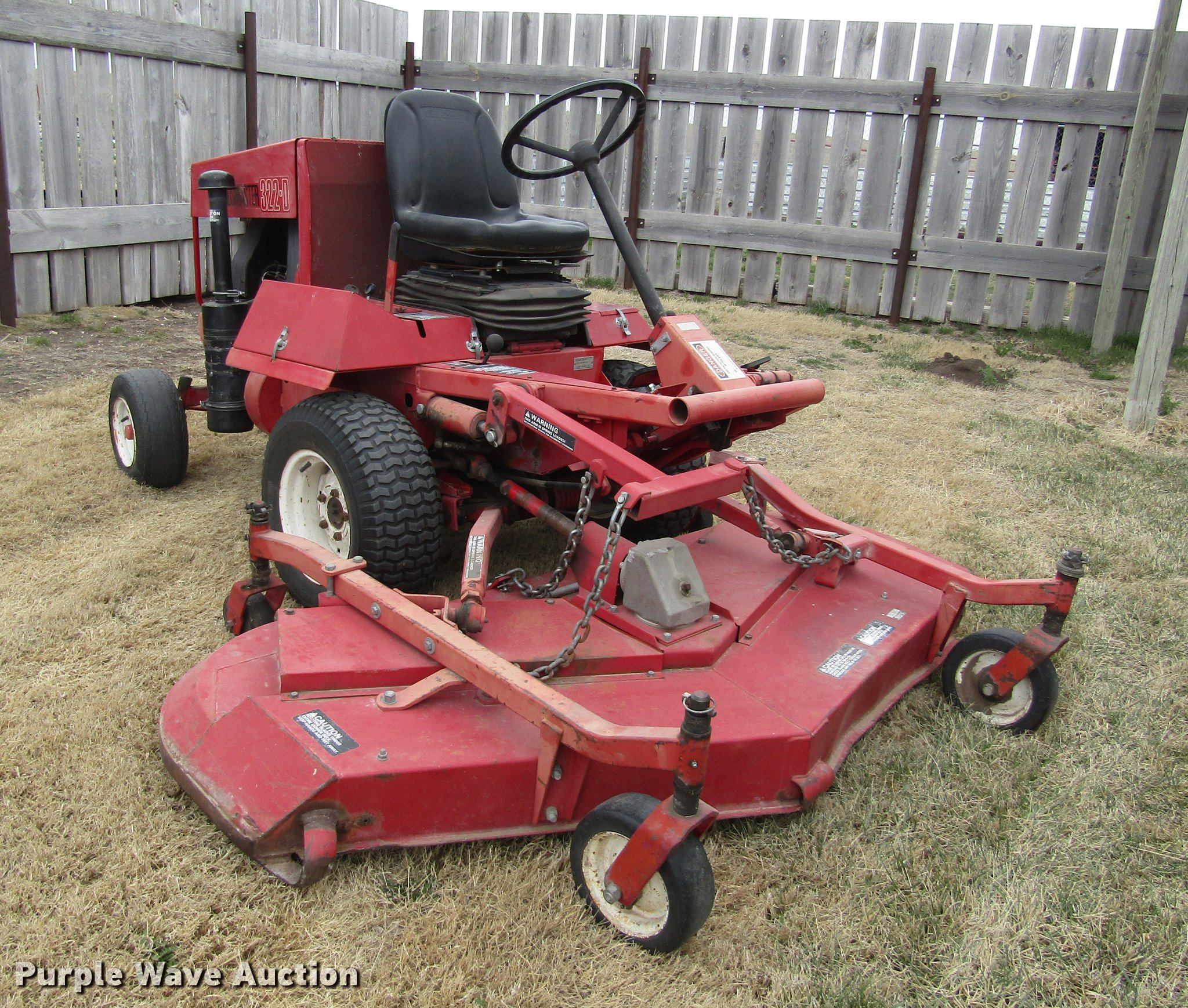 Toro Groundmaster 322D lawn mower | Item DD8764 | SOLD! May