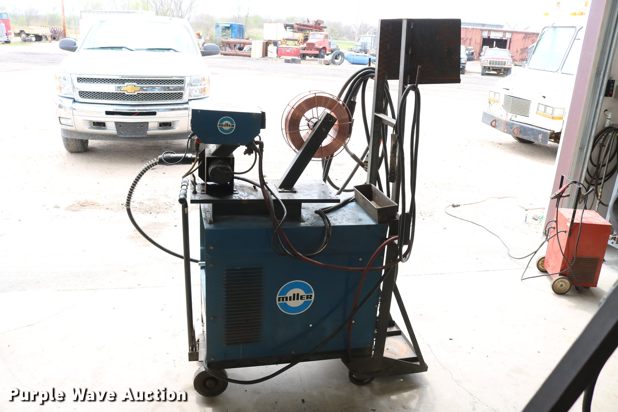 Miller wire welder | Item EW9215 | SOLD! May 30 Vehicles and...