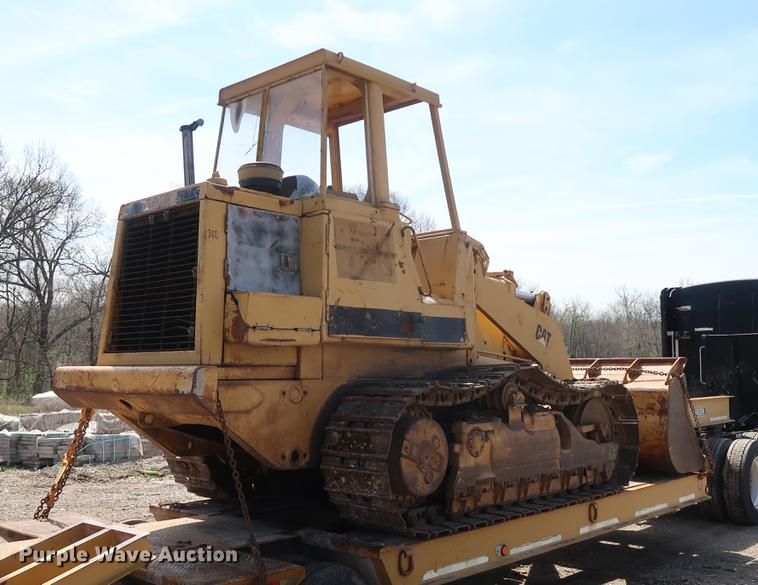 Caterpillar 963 track loader | Item DF3657 | SOLD! May 31 Co