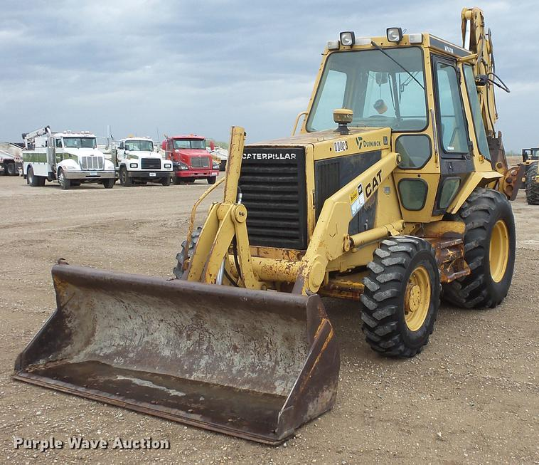 1989 Caterpillar 416 backhoe | Item DV9718 | SOLD! May 31 Co