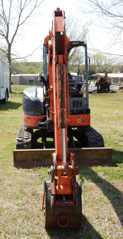 Hitachi ZAXIS 35U mini excavator | Item EI9064 | SOLD! May 3
