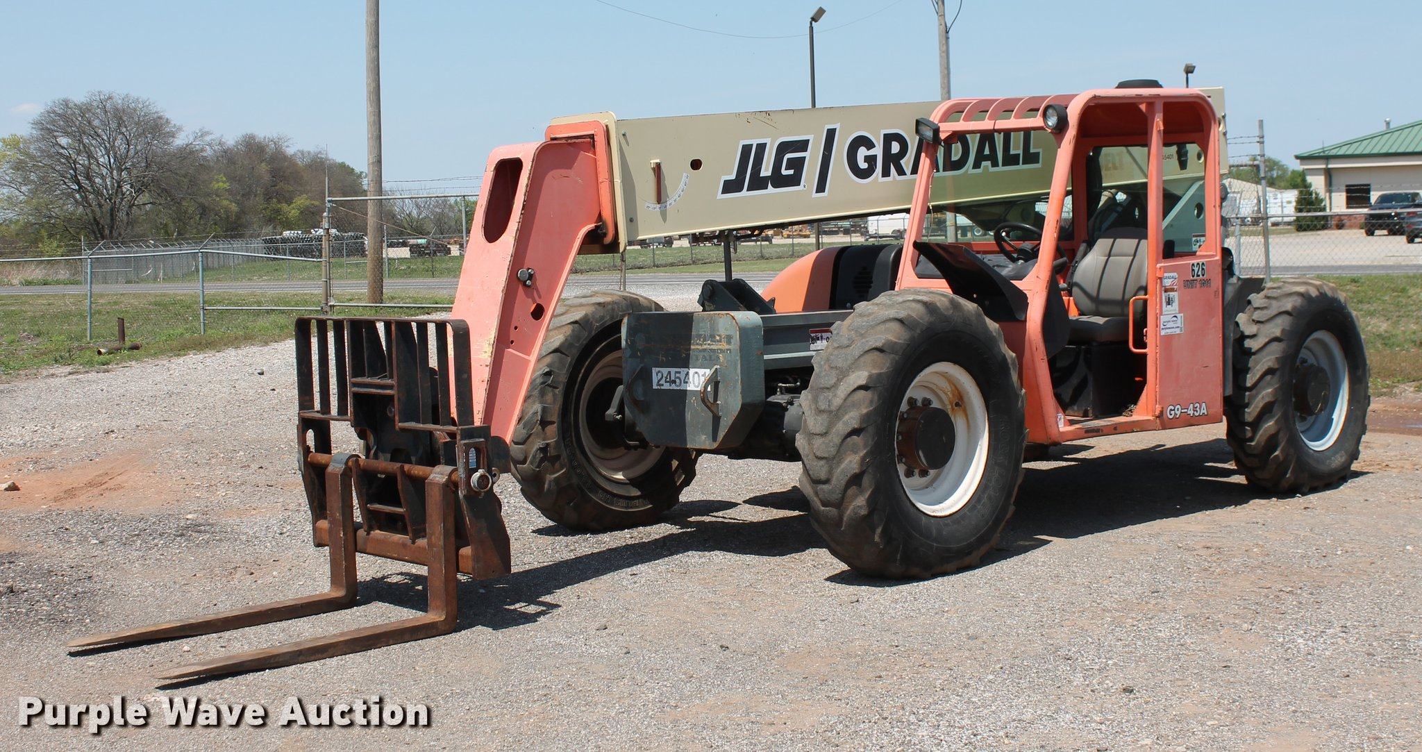 Jlg 20am Wiring Diagram 2004 Gradall G9 43a Telehandler Item Db5206 Sold Ma Full Size In New Window