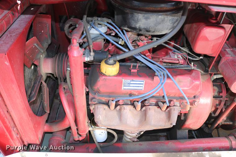 dc7606 image for item dc7606 1985 ford f700 fire truck