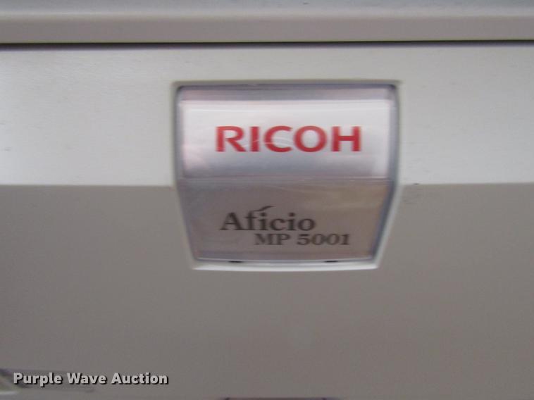 Ricoh Aficio MP-5001SP copy machine   Item EO9004   SOLD! Ju