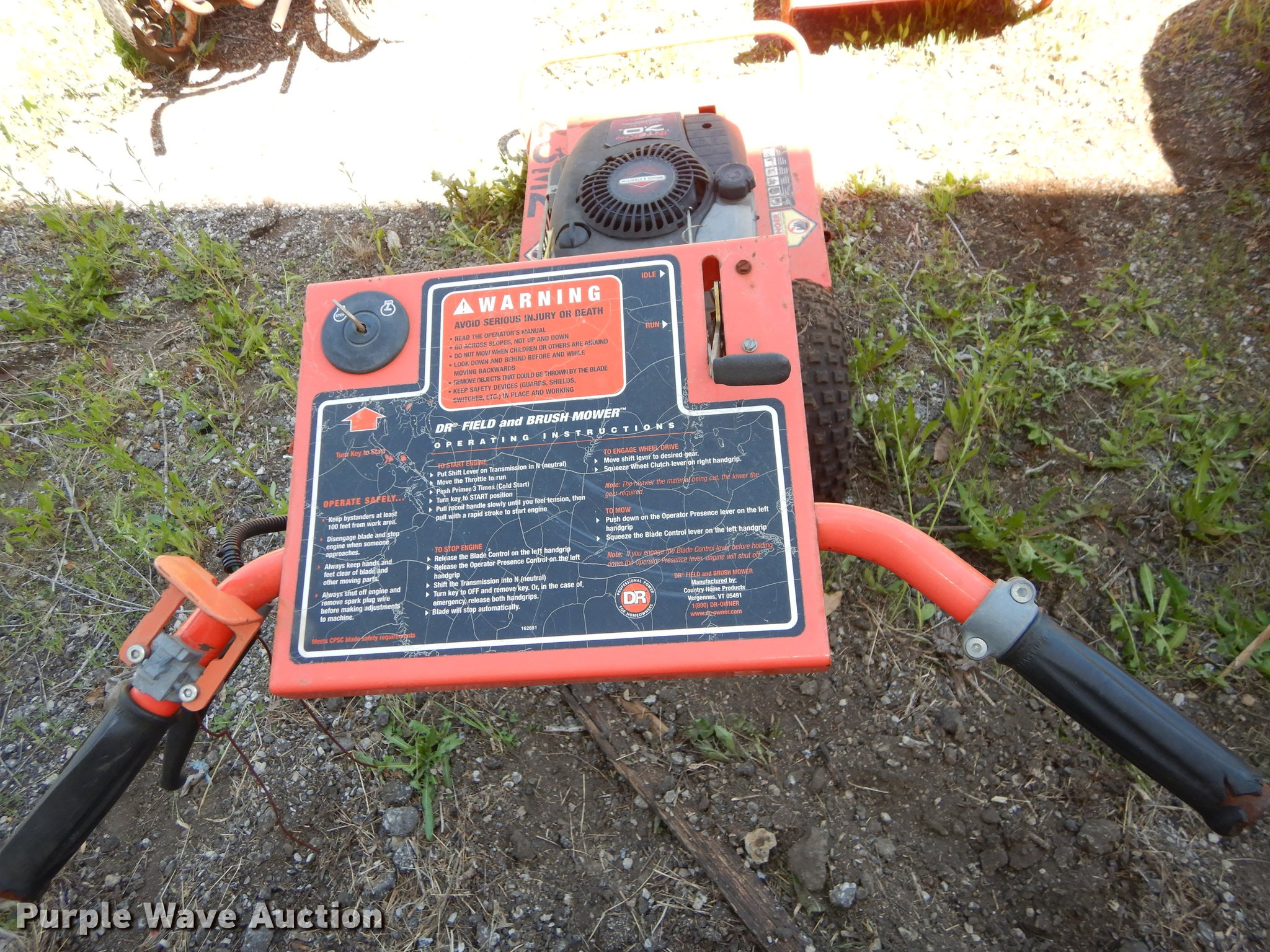 4) lawn and garden equipment | Item EJ9390 | SOLD! June 5 G