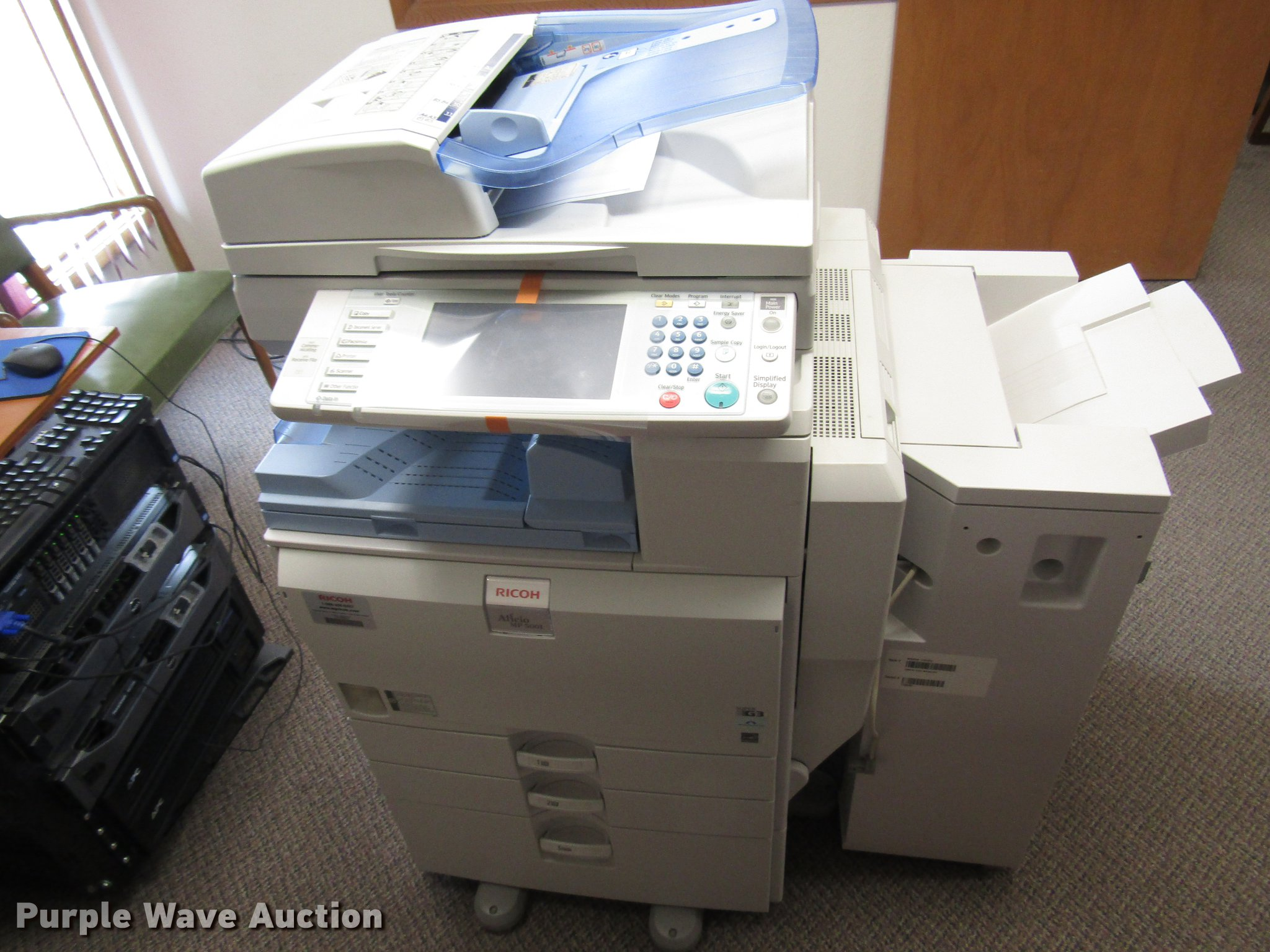 Ricoh Aficio MP-5001SP copy machine | Item EO9004 | SOLD! Ju