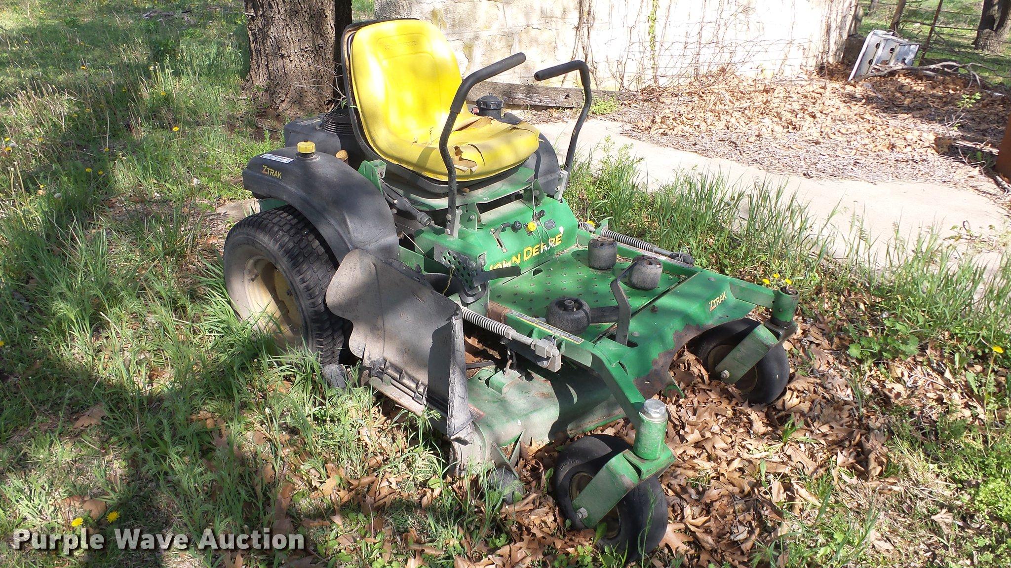 John Deere ZTrak 717A ZTR lawn mower   Item EX9150   SOLD! J