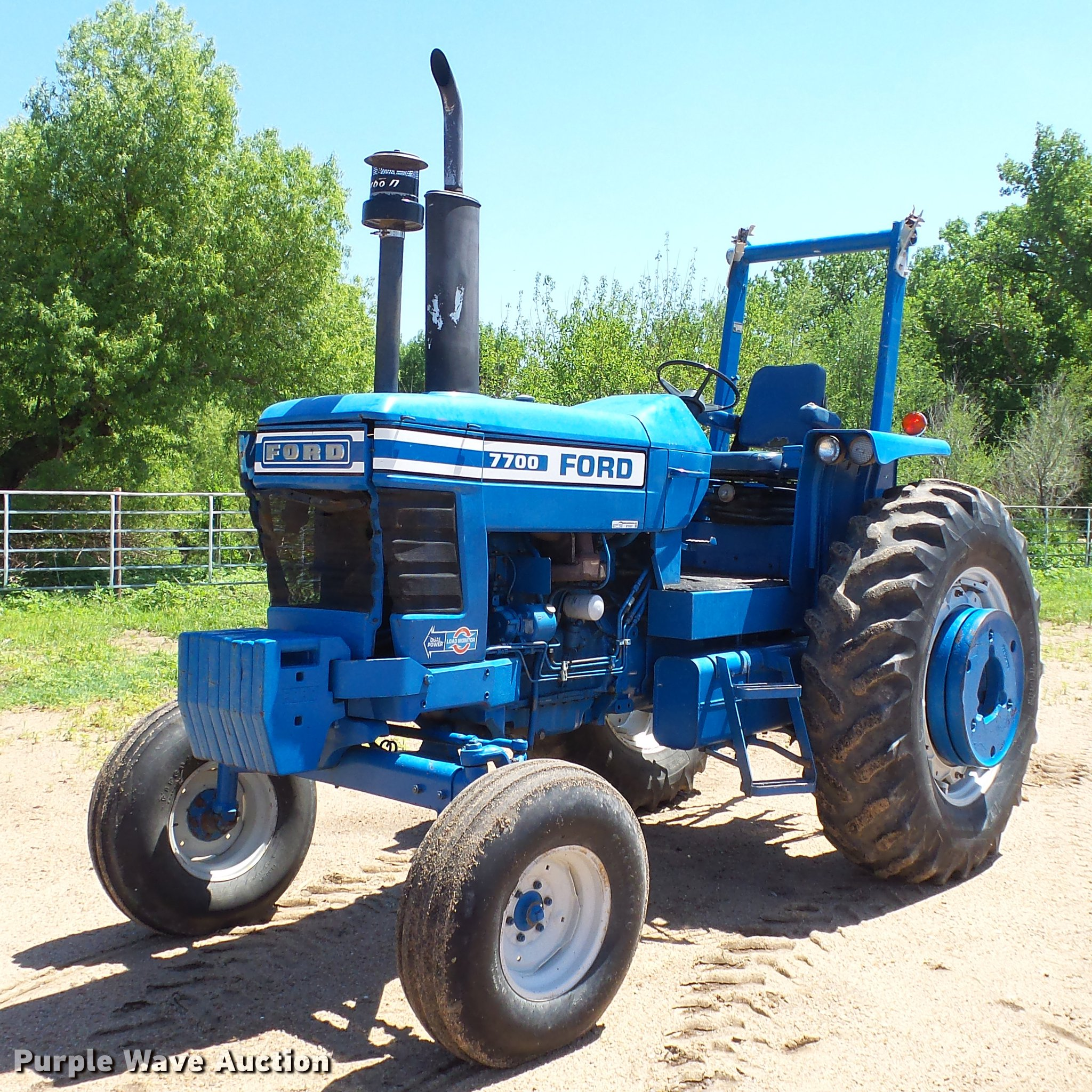ford  tractor item  sold june  ag