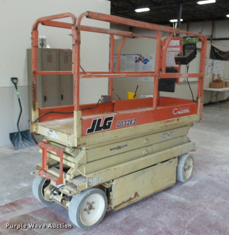 1999 JLG 2032E2 scissor lift | Item DC5508 | SOLD! June 13 V