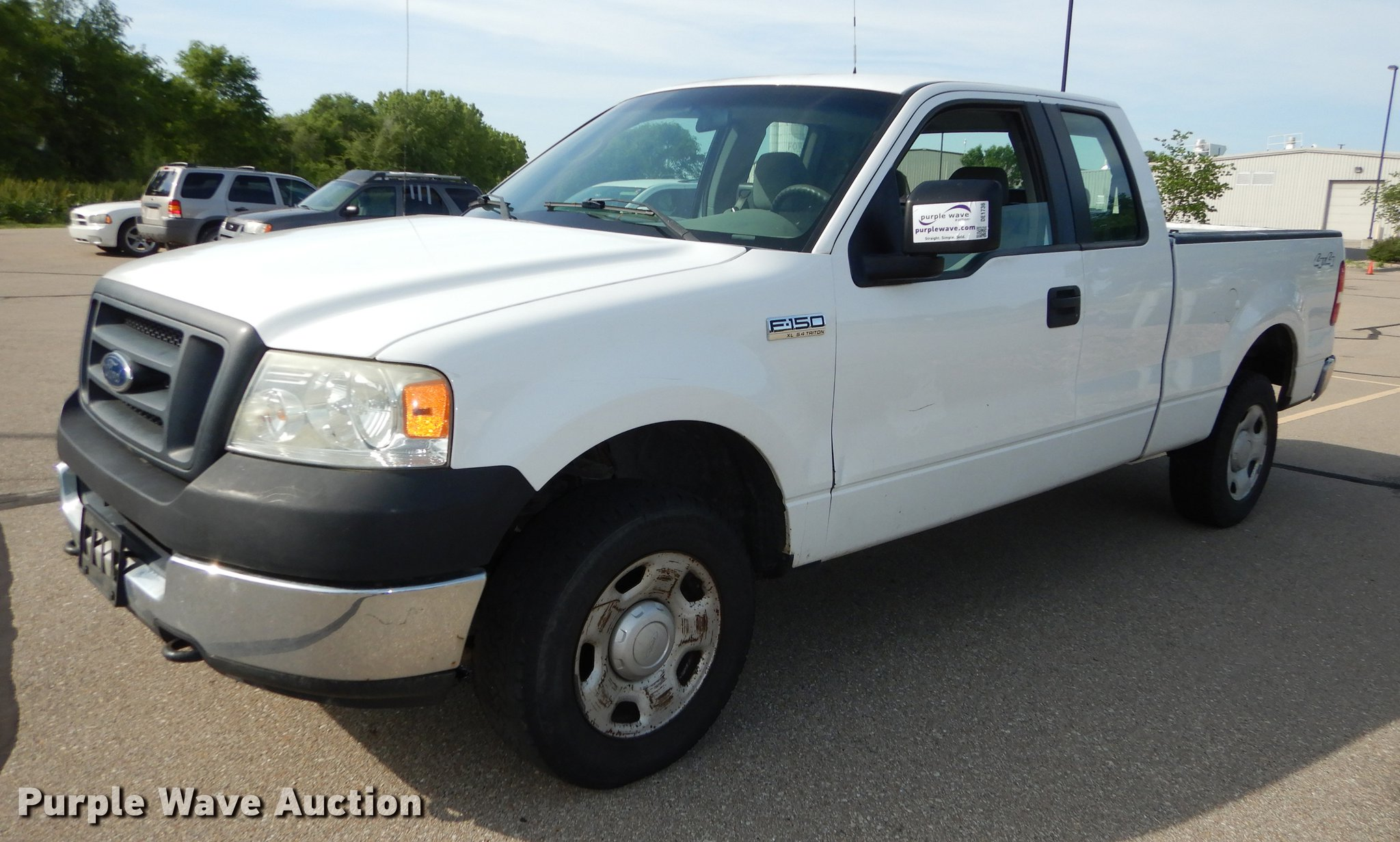 2005 ford f150 supercab pickup truck full size in new window