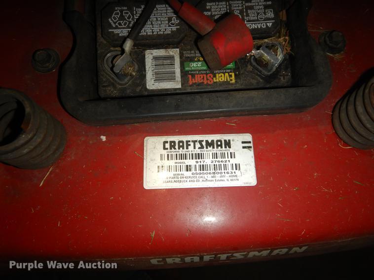 Craftsman YS4500 lawn mower | Item EK9255 | SOLD! June 19 Go