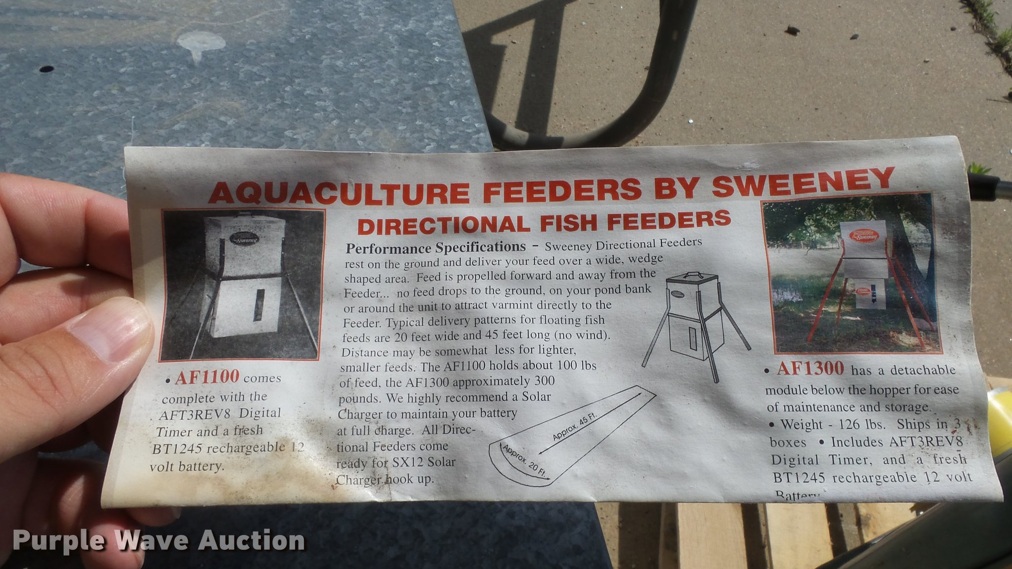 texas directional spin of unit feeders catalog feeder fish cast control pictures mk wildlife