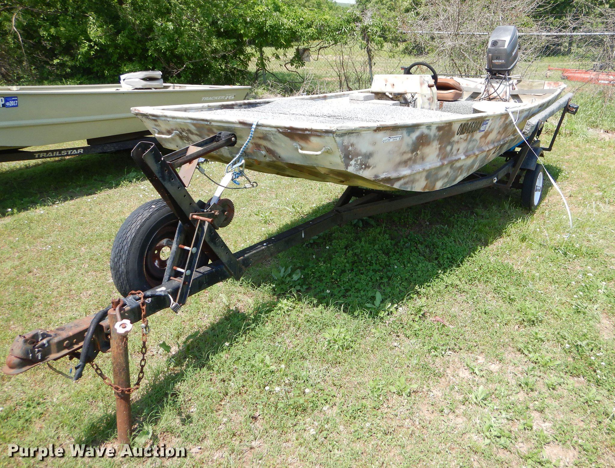 1982 Loweline aluminum flat bottom boat in Okmulgee, OK | Item