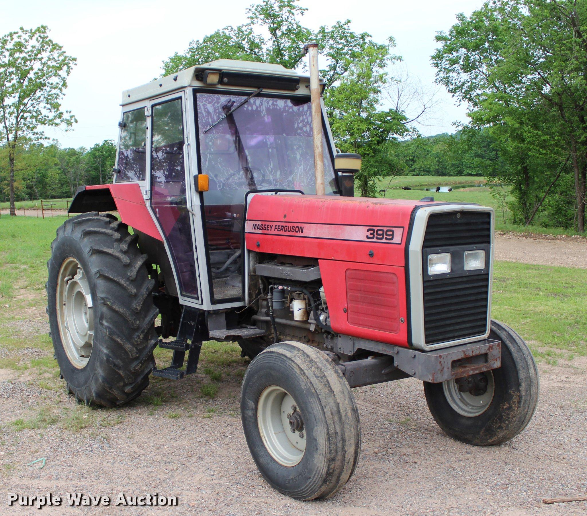 Massey-Ferguson 399 tractor | Item BE9352 | SOLD! June 20 Ag