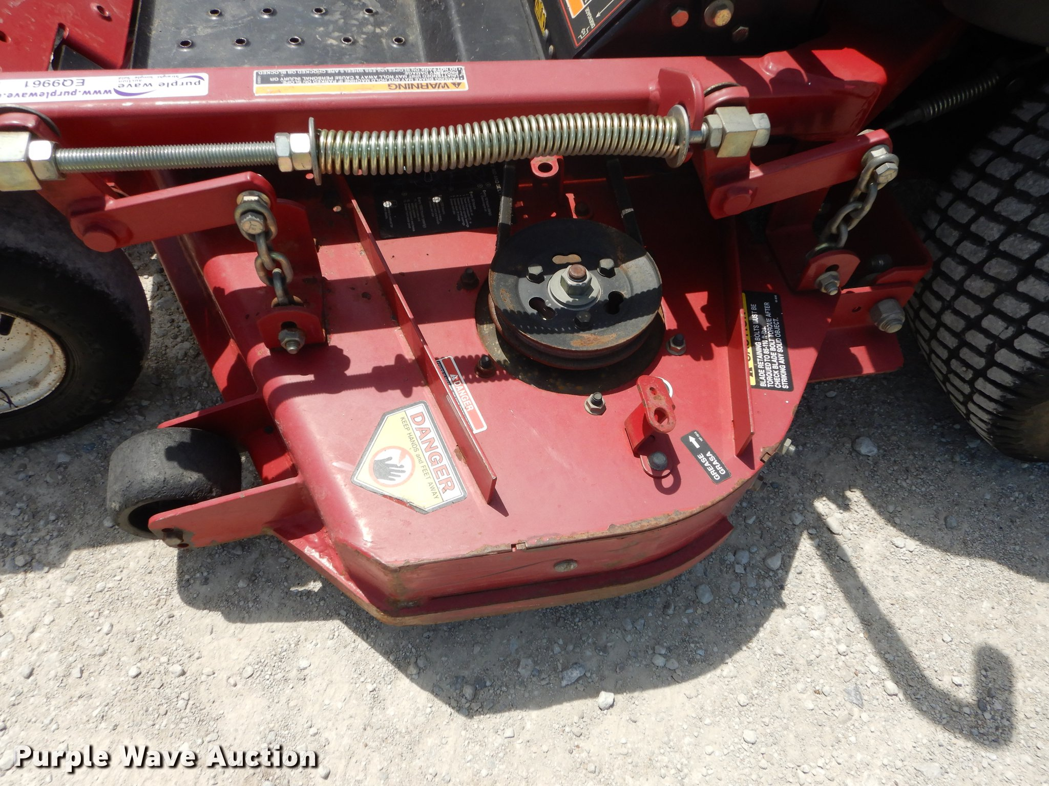 Toro Z Master ZTR lawn mower | Item EQ9961 | SOLD! June 20 A