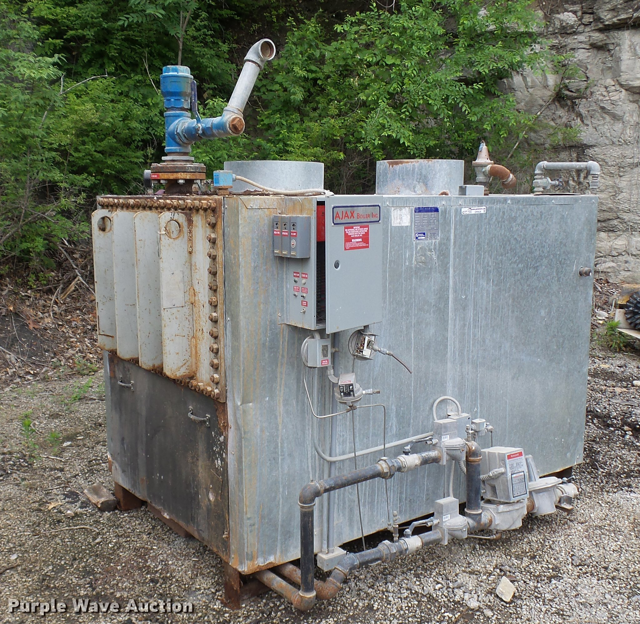 Ajax WNG3500 boiler   Item DP9526   SOLD! June 27 Vehicles a... on