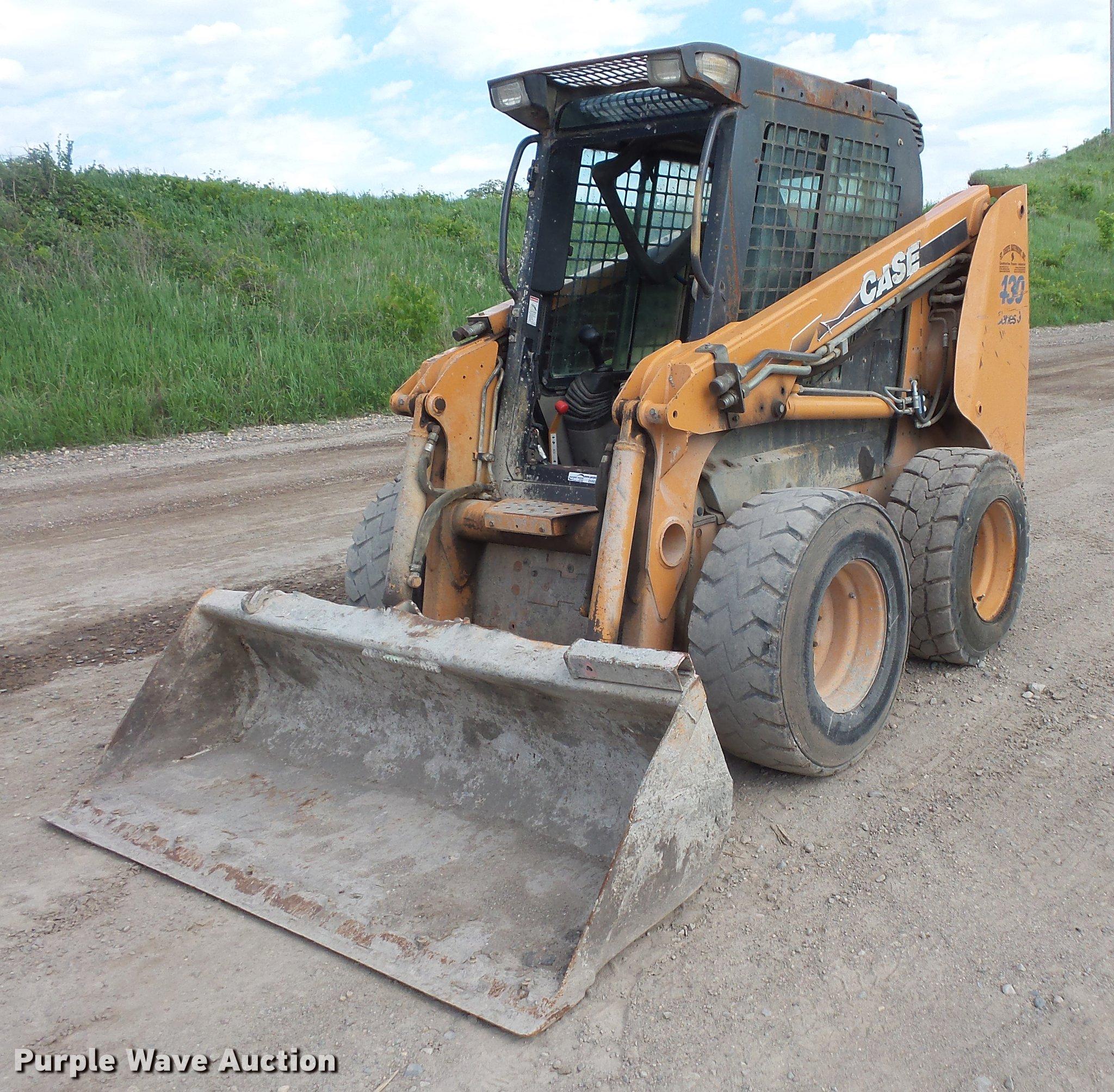 DV9306 image for item DV9306 2008 Case 430 skid steer