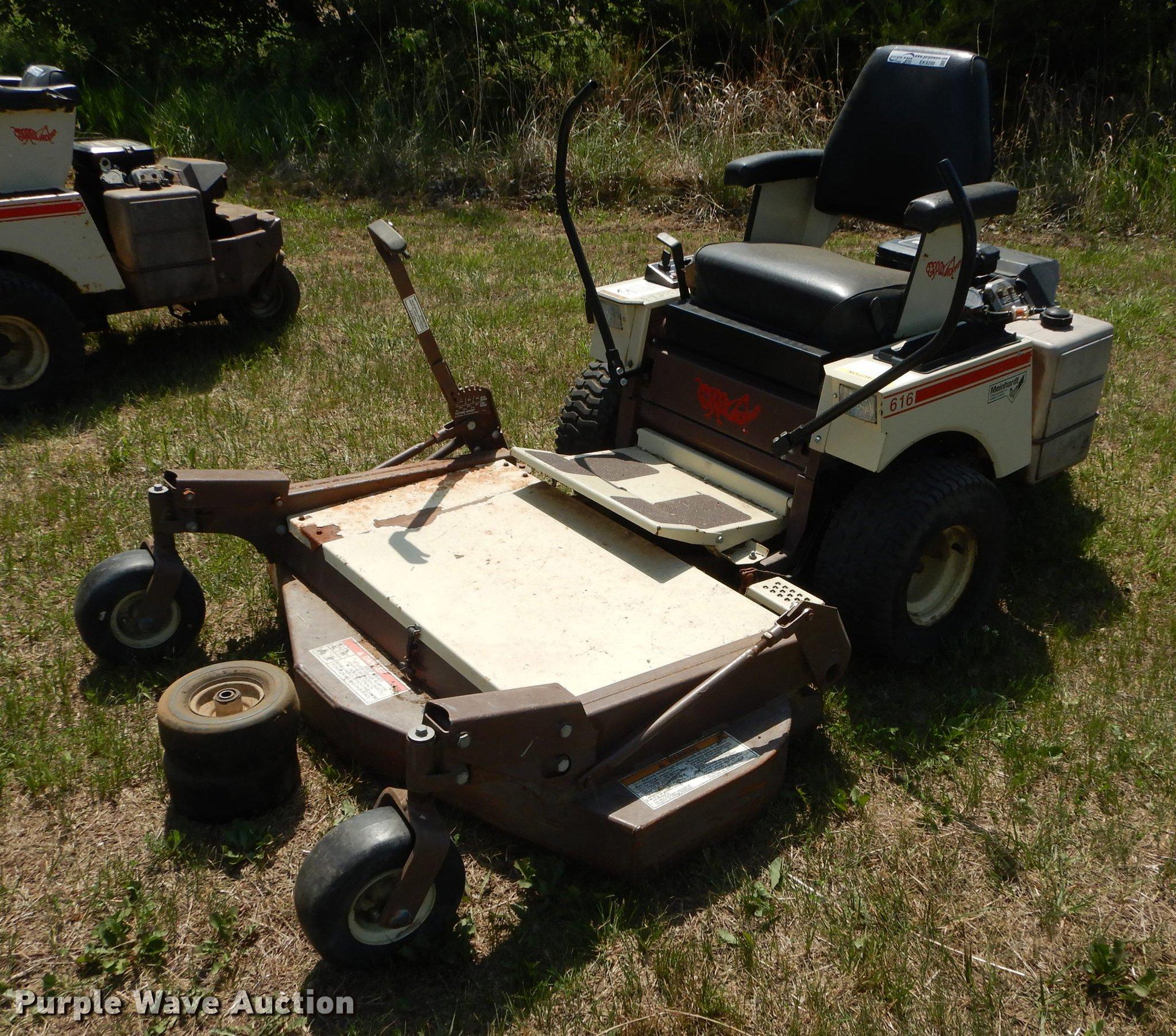 Grasshopper 616 Ztr Lawn Mower Item Ek9288 Sold June