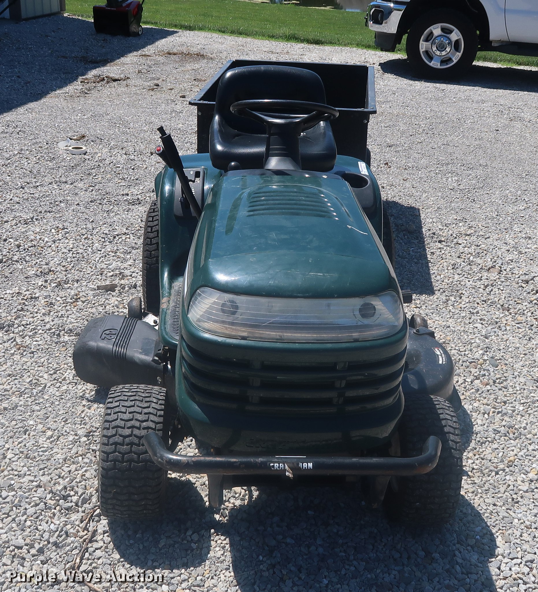 Craftsman LT1000 lawn mower | Item EP9373 | SOLD! June 27 Ve
