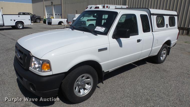 2009 Ford Ranger Supercab Pickup Truck Item De7172 Sold