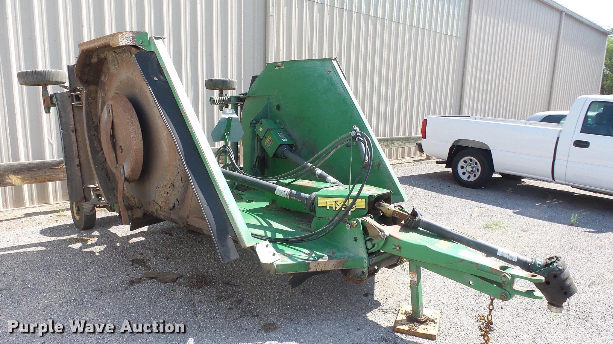 John Deere HX15 rotary mower | Item DE7173 | SOLD! July 10 G