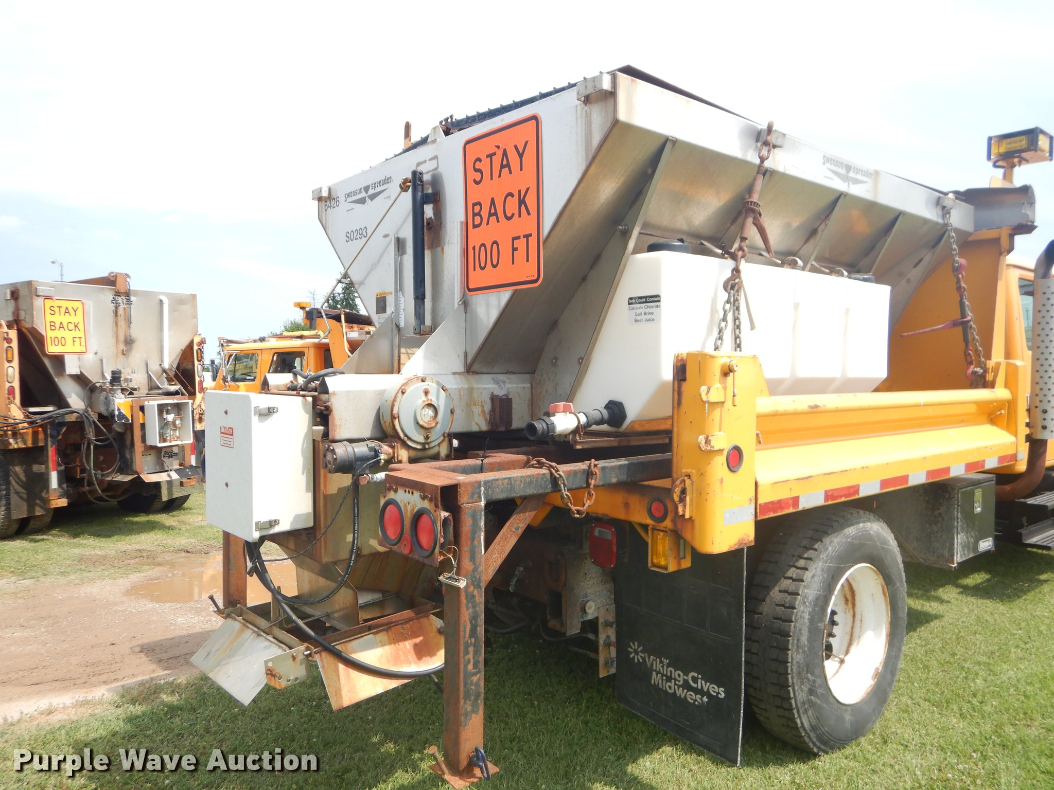 2001 International 4900 Crew Cab Dump Truck Item Ek9525 Viking Cives Snow Plow Wiring Diagram Full Size In New Window