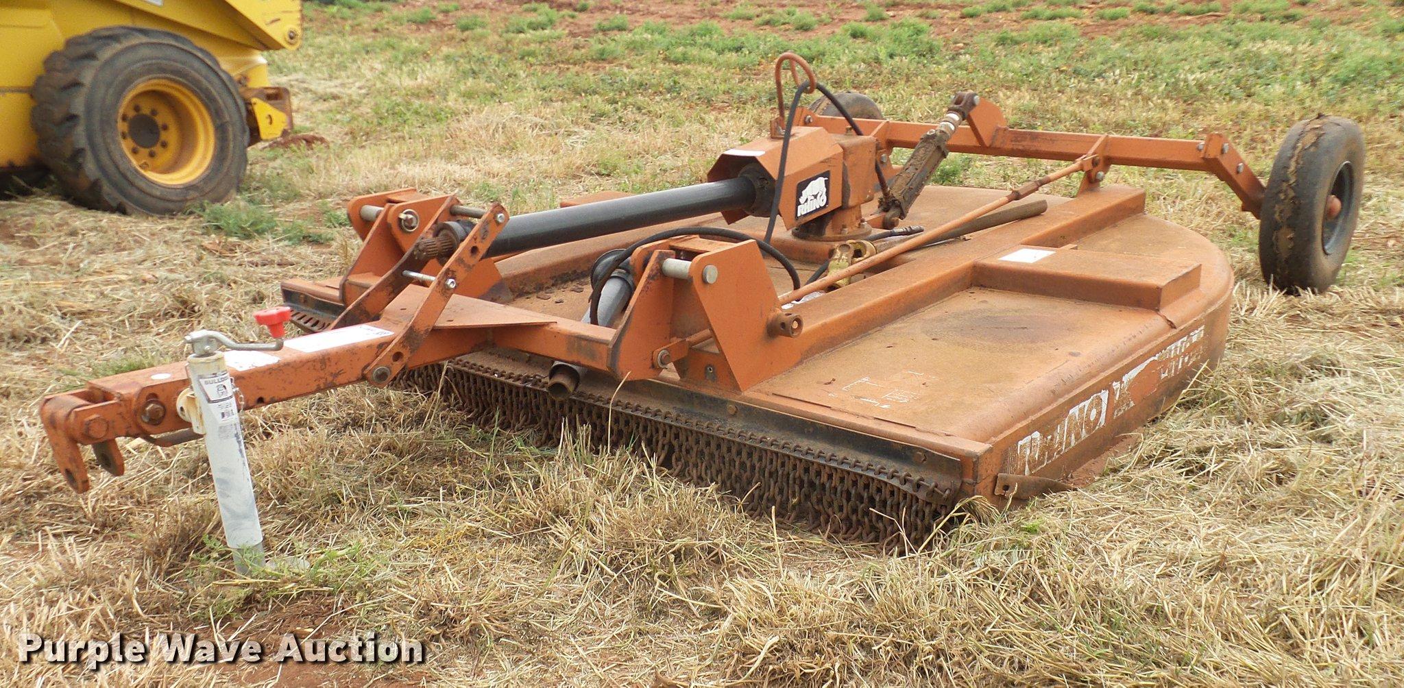 Rhino TW84 rotary mower | Item DD8179 | SOLD! July 11 Ag Equ