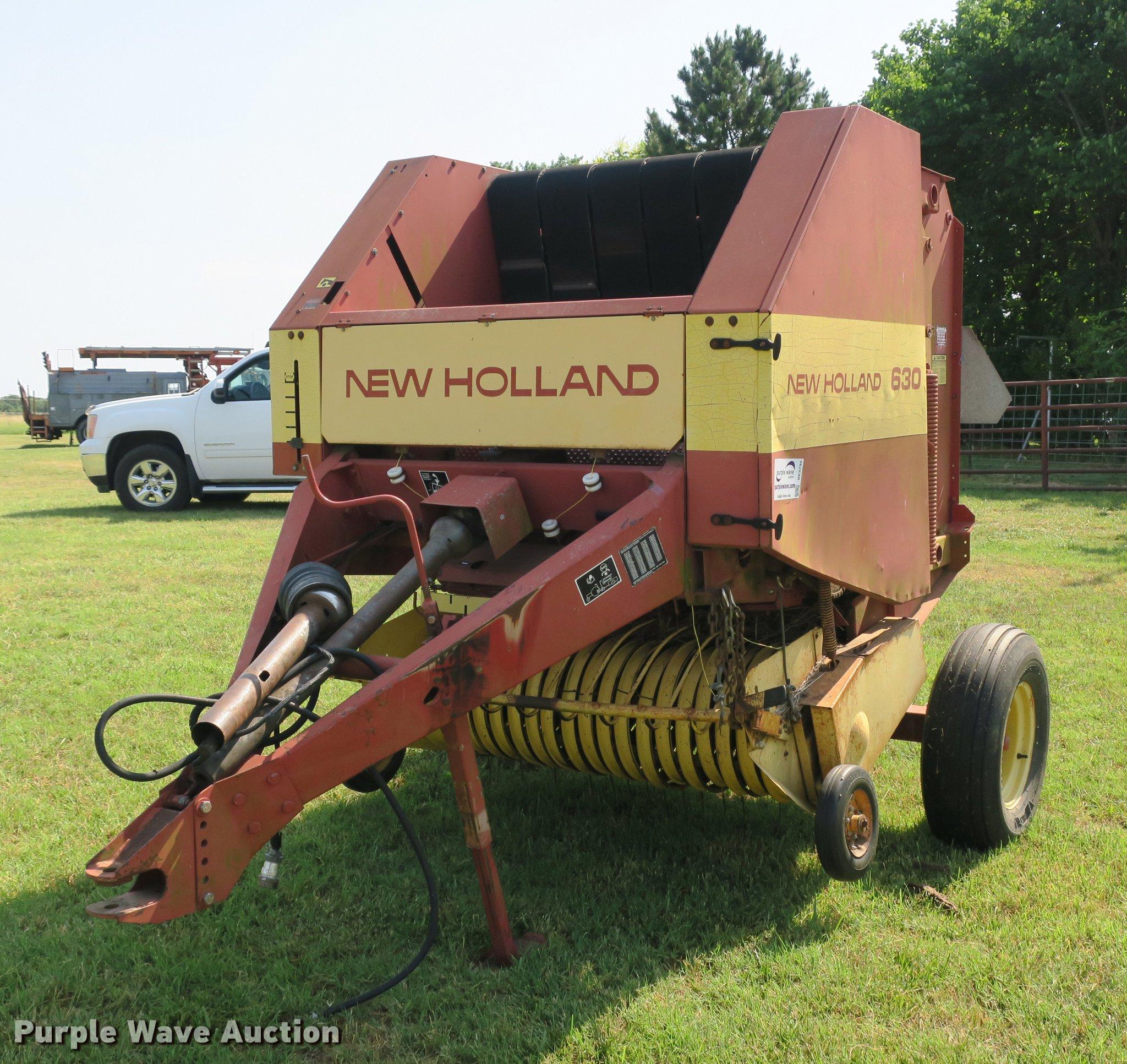 WRG-5324] New Holland 630 Round Baler Operators Manual