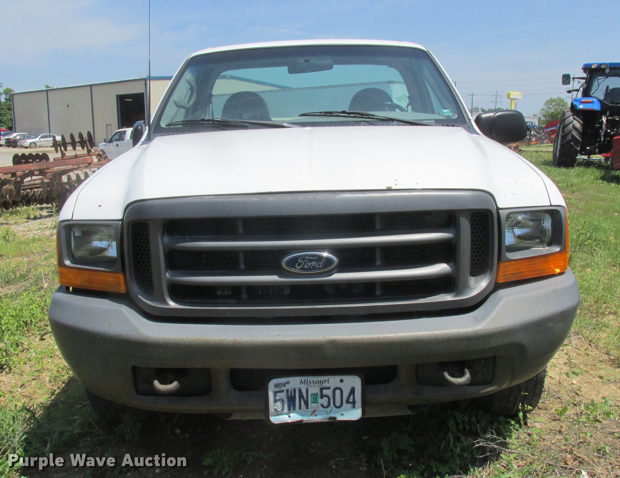 2000 Ford F250 Super Duty Pickup Truck Item Dd8468 Sold Full Size In New Window