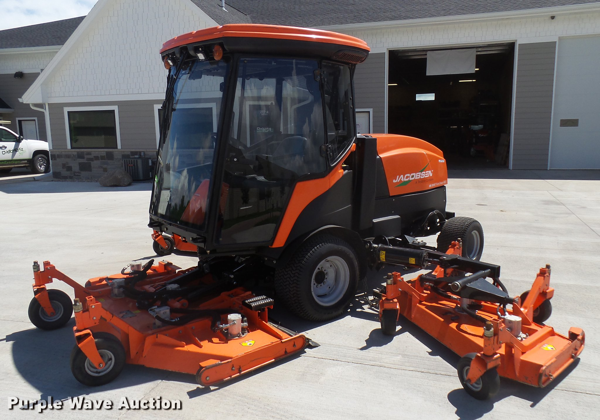 2014 Jacobsen HR9016 lawn mower | Item DX9122 | SOLD! July 1