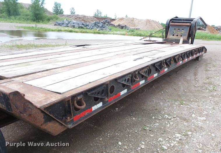 2001 fontaine drop deck equipment trailer item dc4701 so dc4701 image for item dc4701 2001 fontaine drop deck equipment trailer