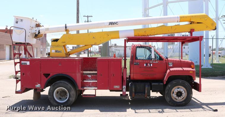 1997 GMC C7500 bucket truck | Item DD4265 | SOLD! July 19 Co
