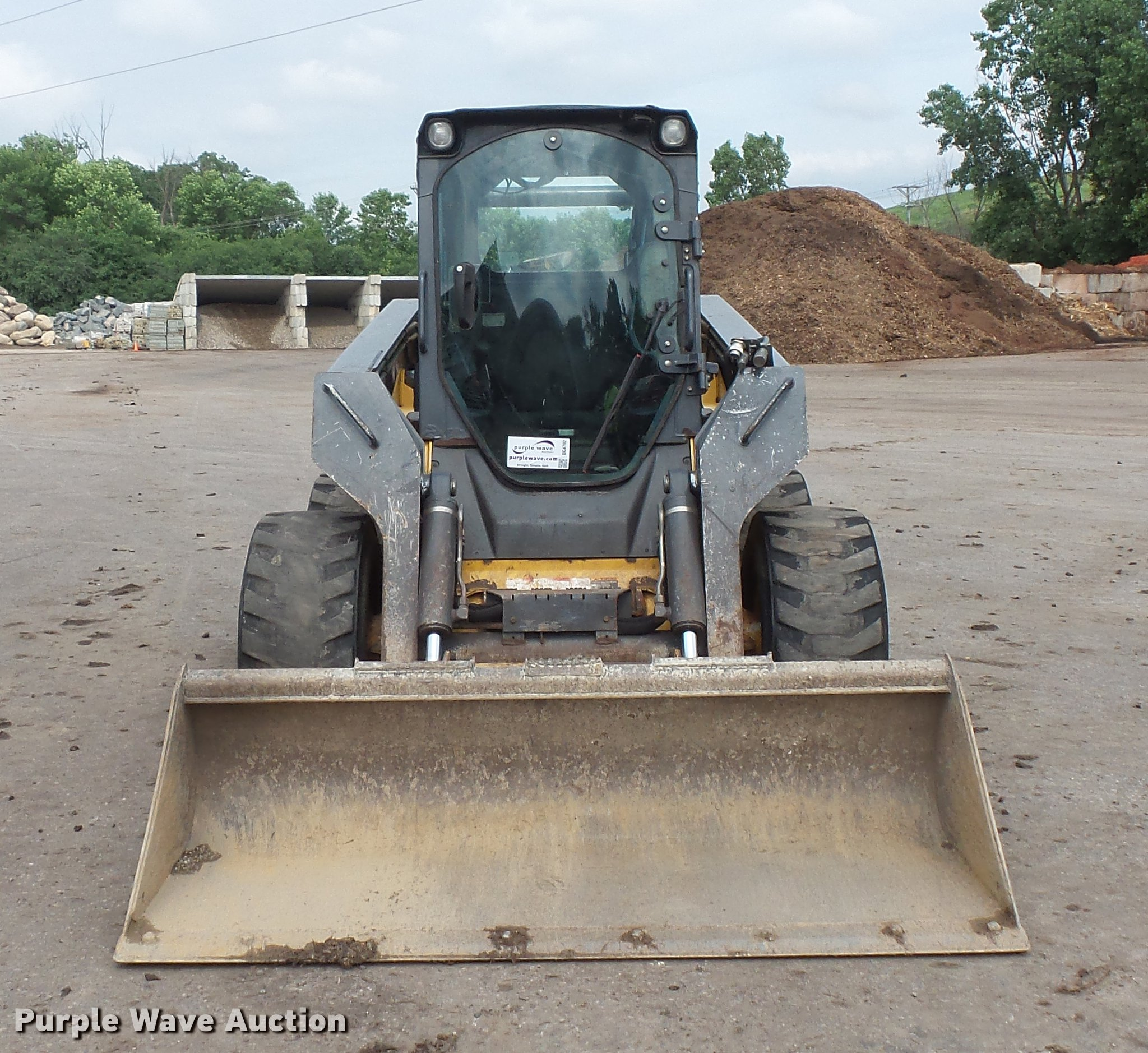 2011 John Deere 332d Skid Steer Item Dc4702 Sold July 1 Loader Wiring Schematic Full Size In New Window