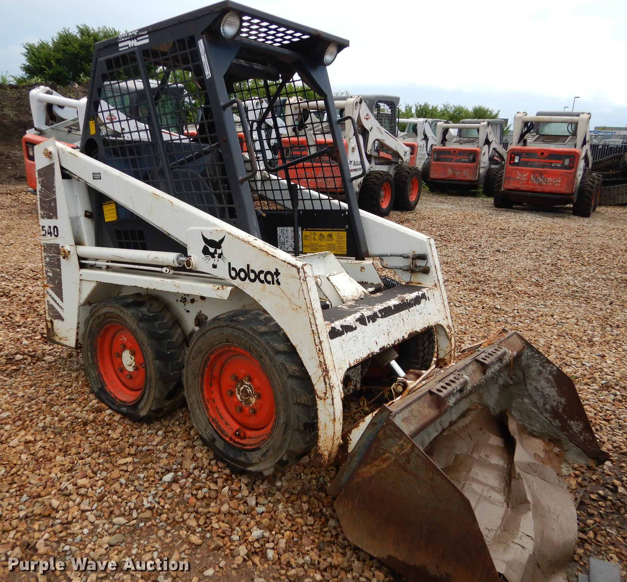 Bobcat 540 Skid Steer Item Em9554 Sold July 19 Construc