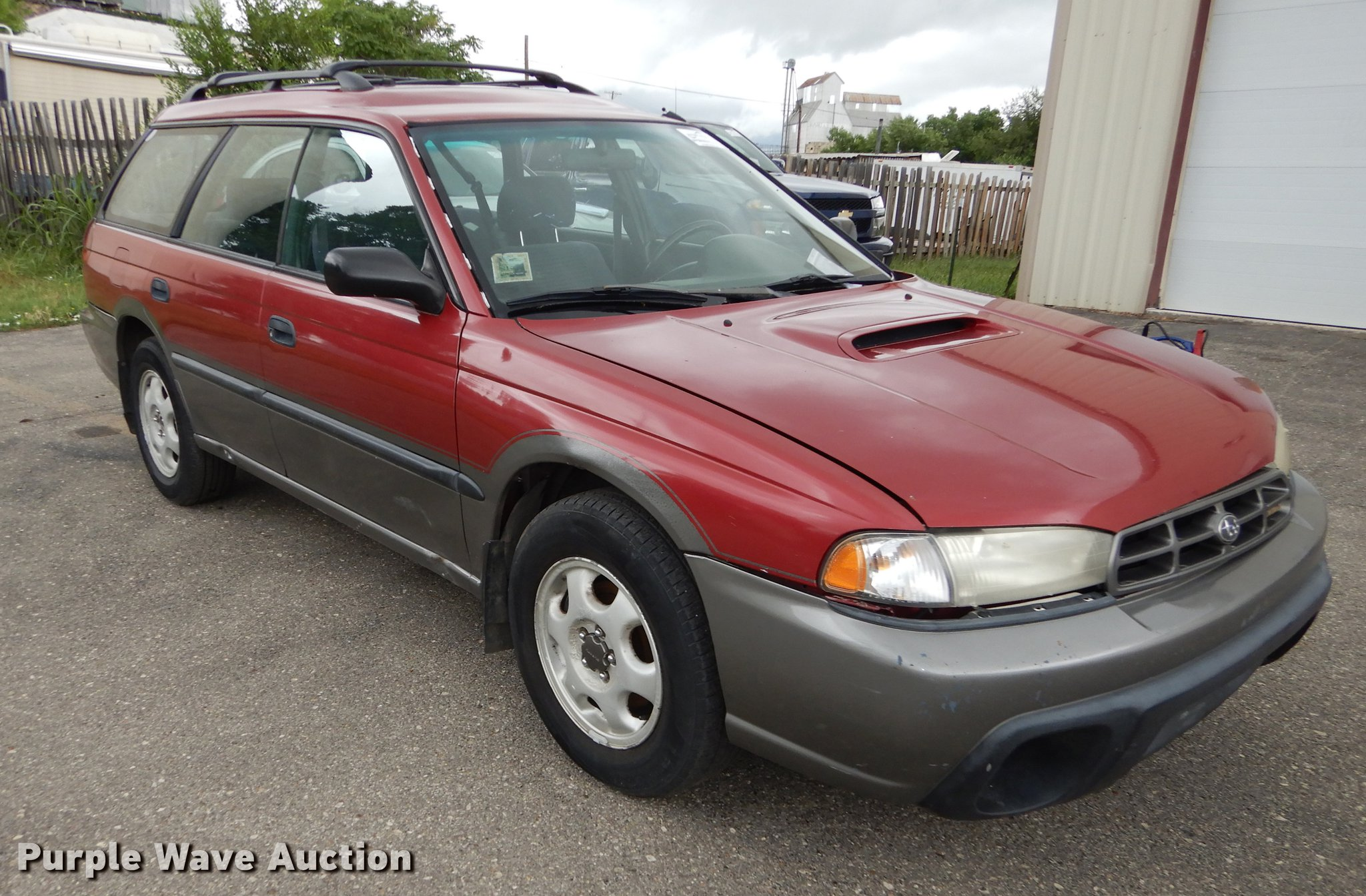 1998 Subaru Legacy Wagon Outback Item De1781 Sold July Full Size In New Window