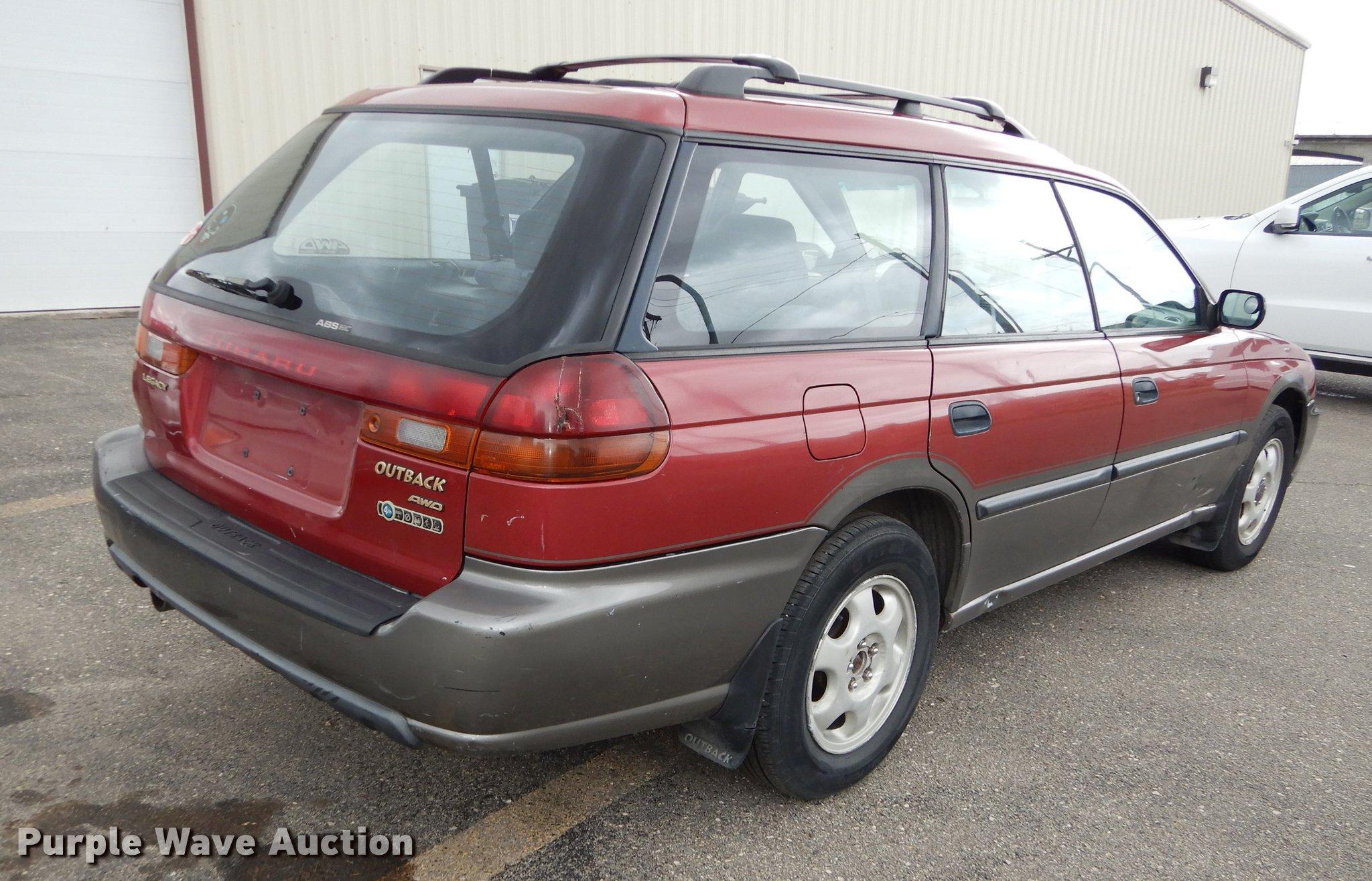 1998 Subaru Legacy Wagon Outback Item De1781 Sold July Full Size In New Window