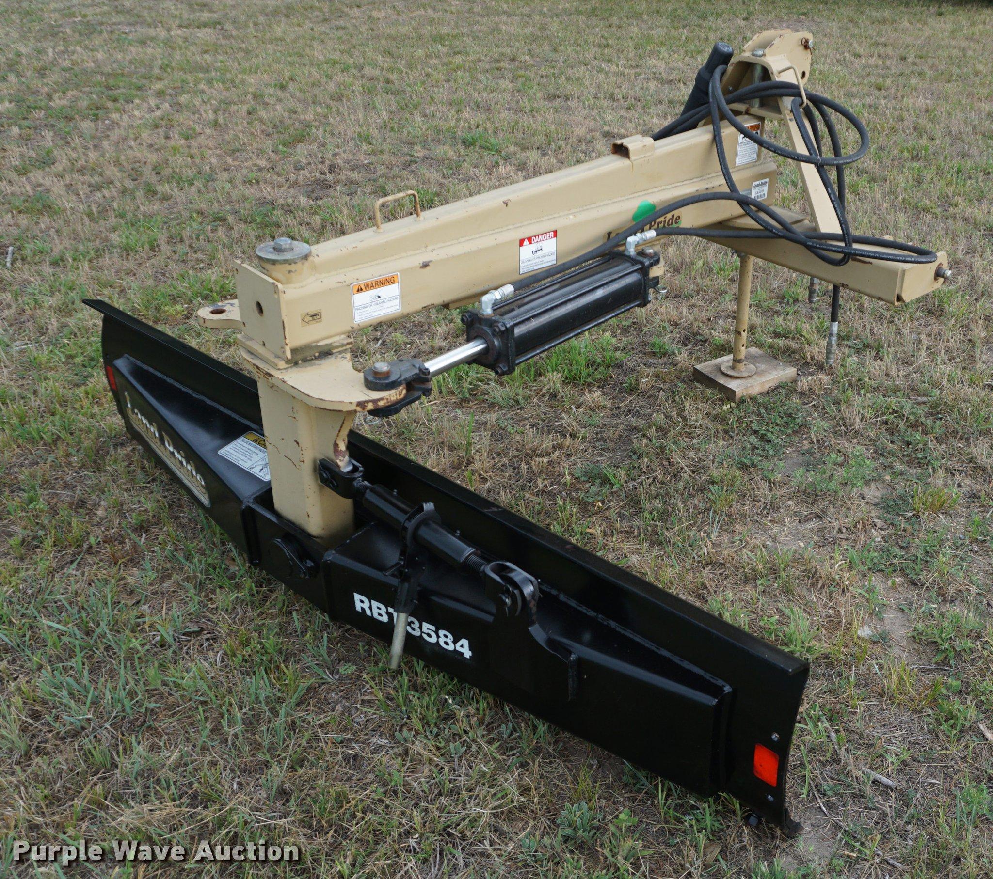 Land Pride RBT3584 blade | Item DD7717 | SOLD! July 25 Ag Eq