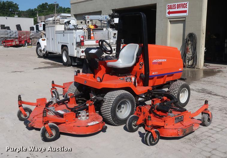 Array - jacobsen hr 5111 lawn mower   item de6084   sold  august 1 v     rh   purplewave com
