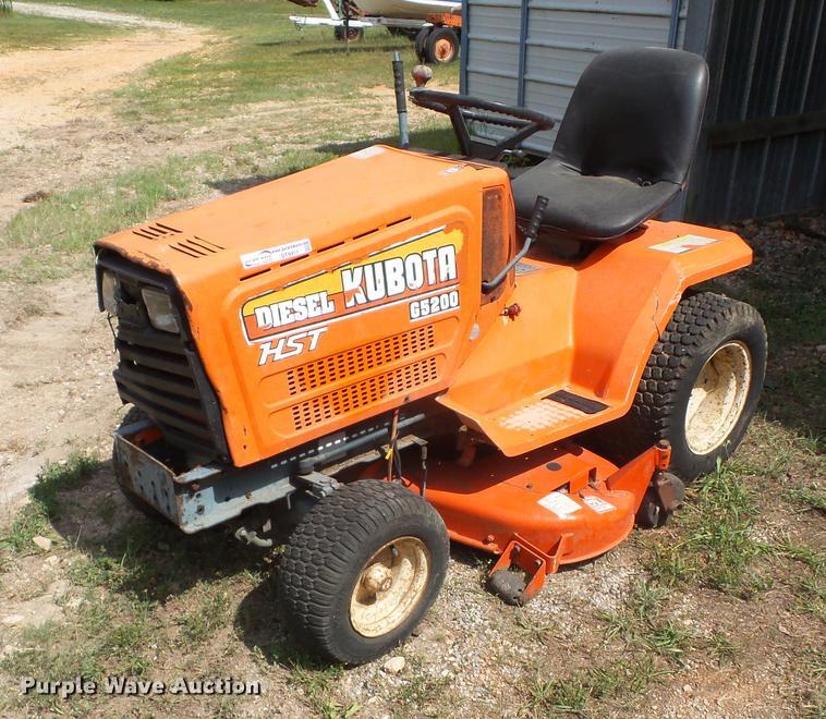 Kubota G5200 Lawn Mower