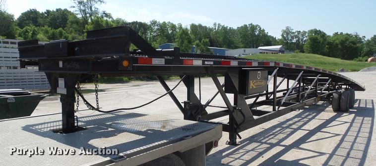 2014 Kaufman W56 car carrier trailer   Item DZ9346   SOLD! A
