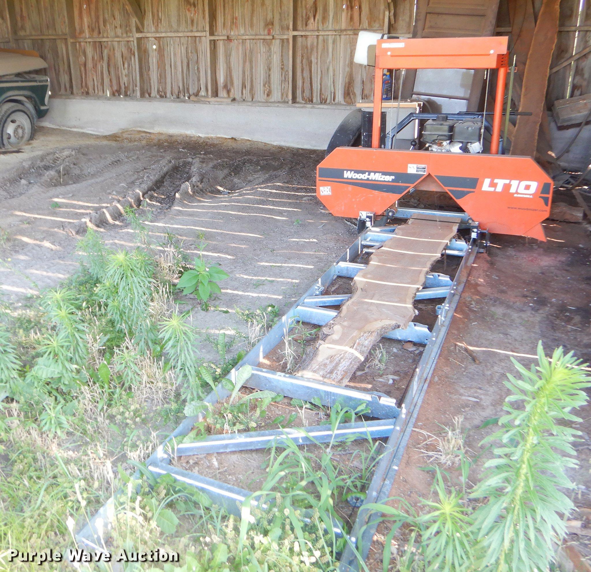 Woodmizer Sawmill For Sale >> Woodmizer Lt10 Sawmill Item Ek9569 Sold August 1 Vehicl