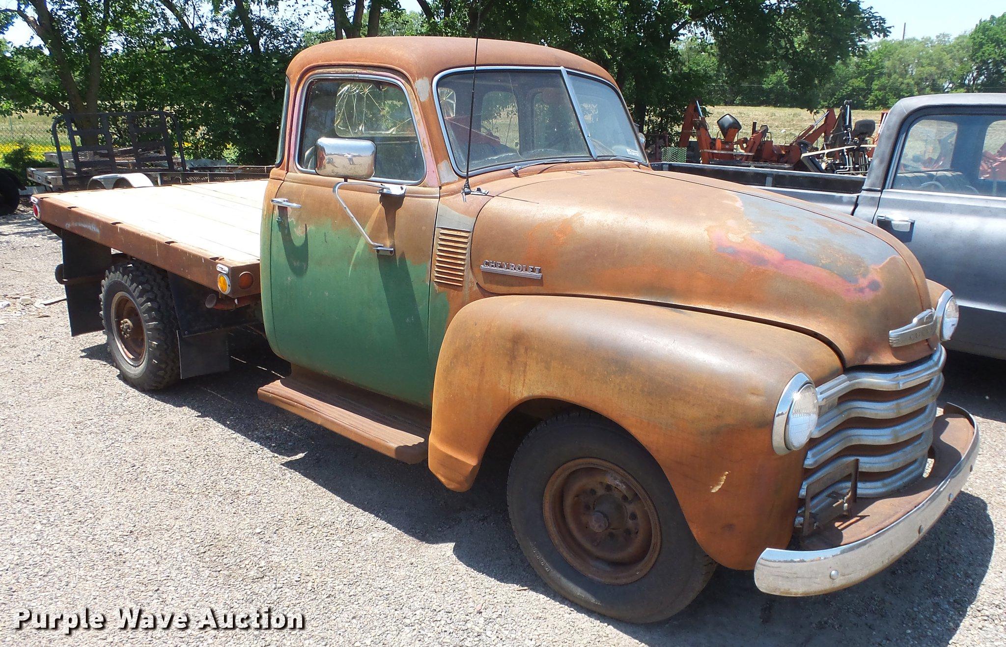 1948 Ford Flatbed Truck Grain Er Image For Item Chevrolet Pickup 2048x1318