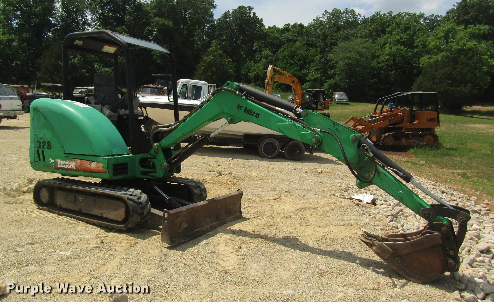 2006 Bobcat 328 mini excavator | Item DD8500 | SOLD! August