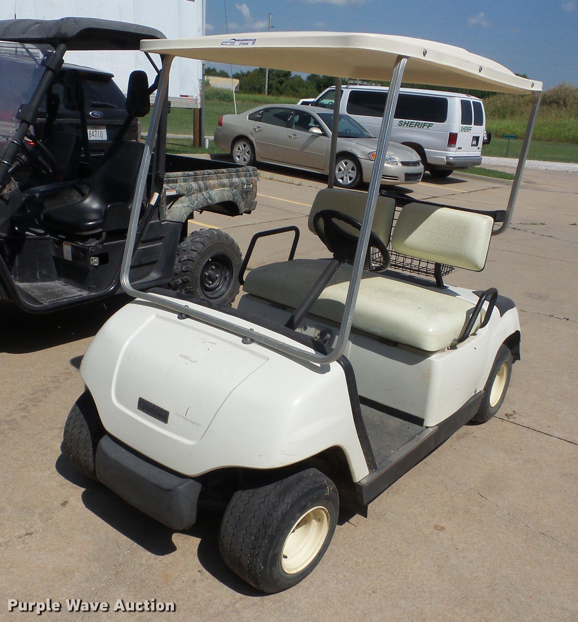 1997 Yamaha G16 Gas Golf Cart Wiring Diagram Elc A Item Sold August 1904x2048