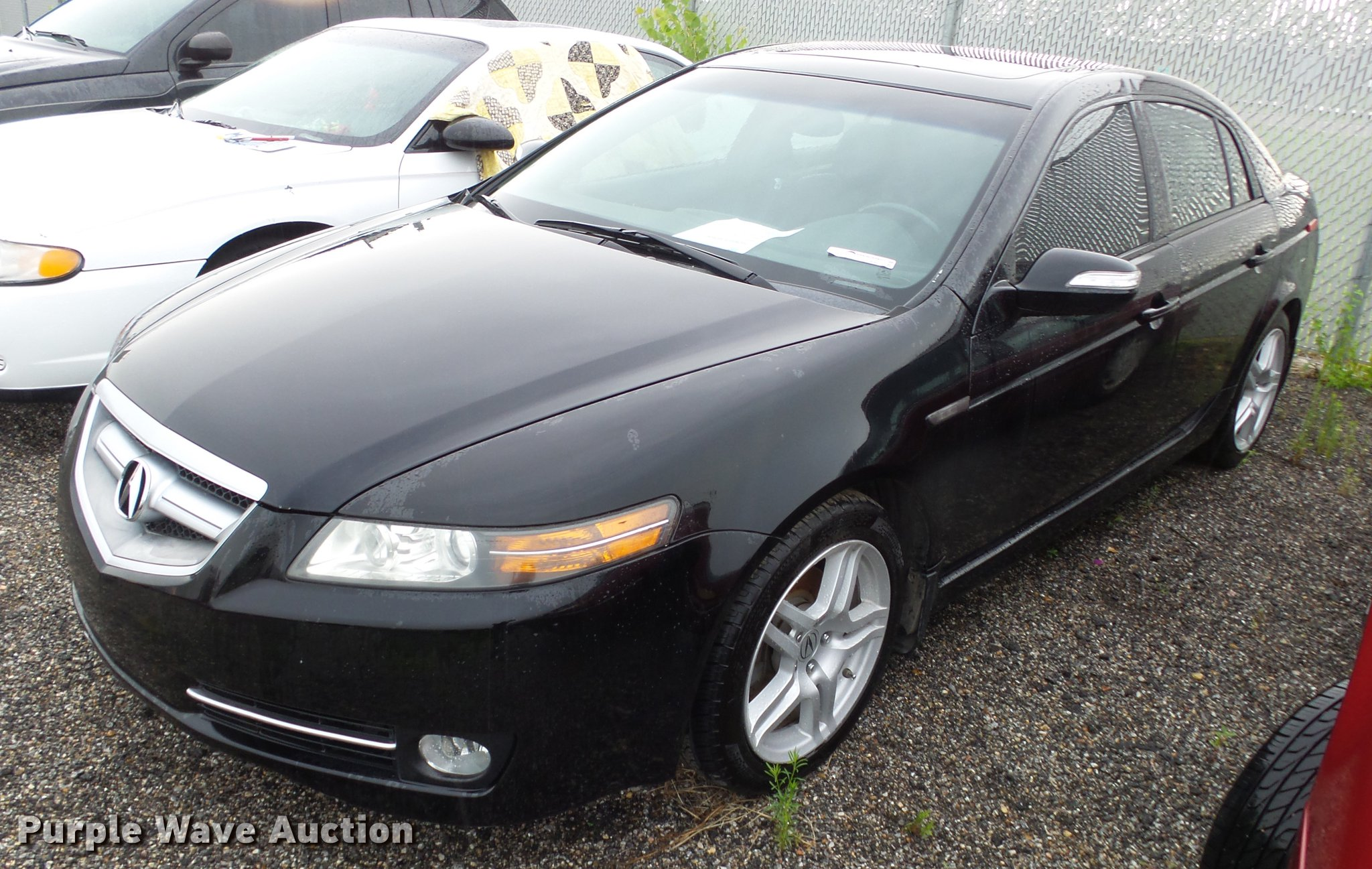 Acura TL Item EF SOLD August Government Auct - 08 acura tl for sale