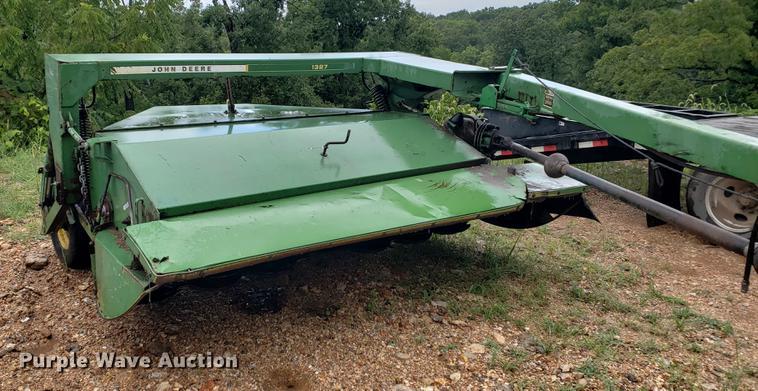 John Deere 1327 discbine mower conditioner | Item EF9788 | S
