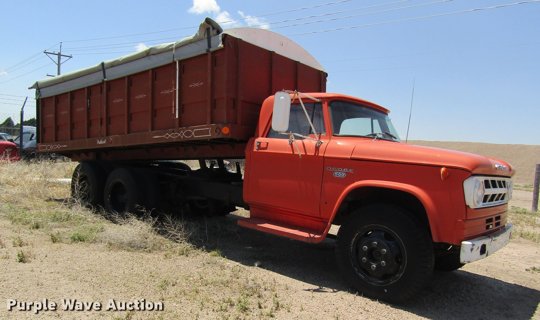 1968 Dodge 500 Grain Truck Item Dd8849 Sold August 8 Ag Pick Up Image For