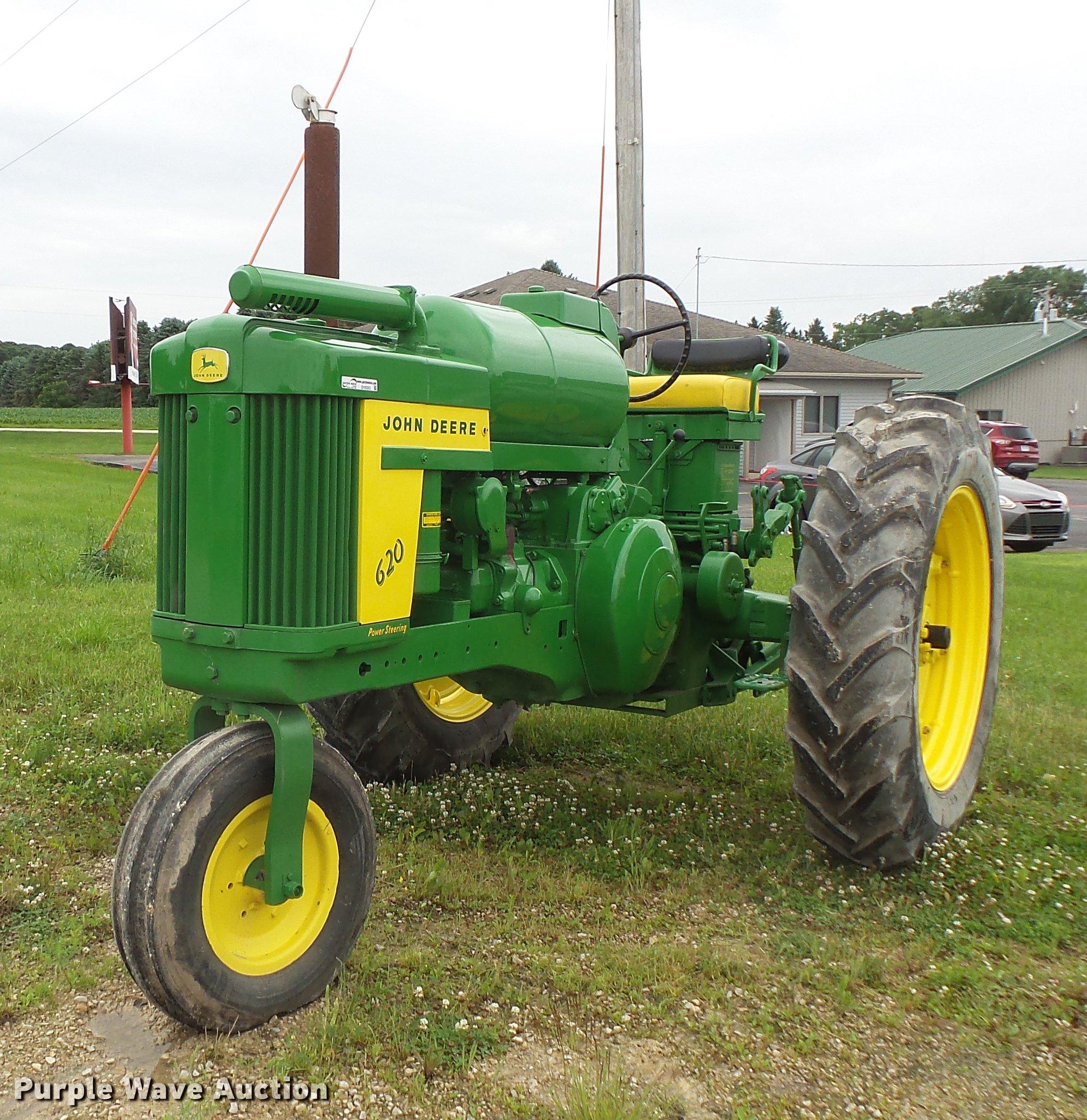 DV9363 image for item DV9363 John Deere 620 tractor