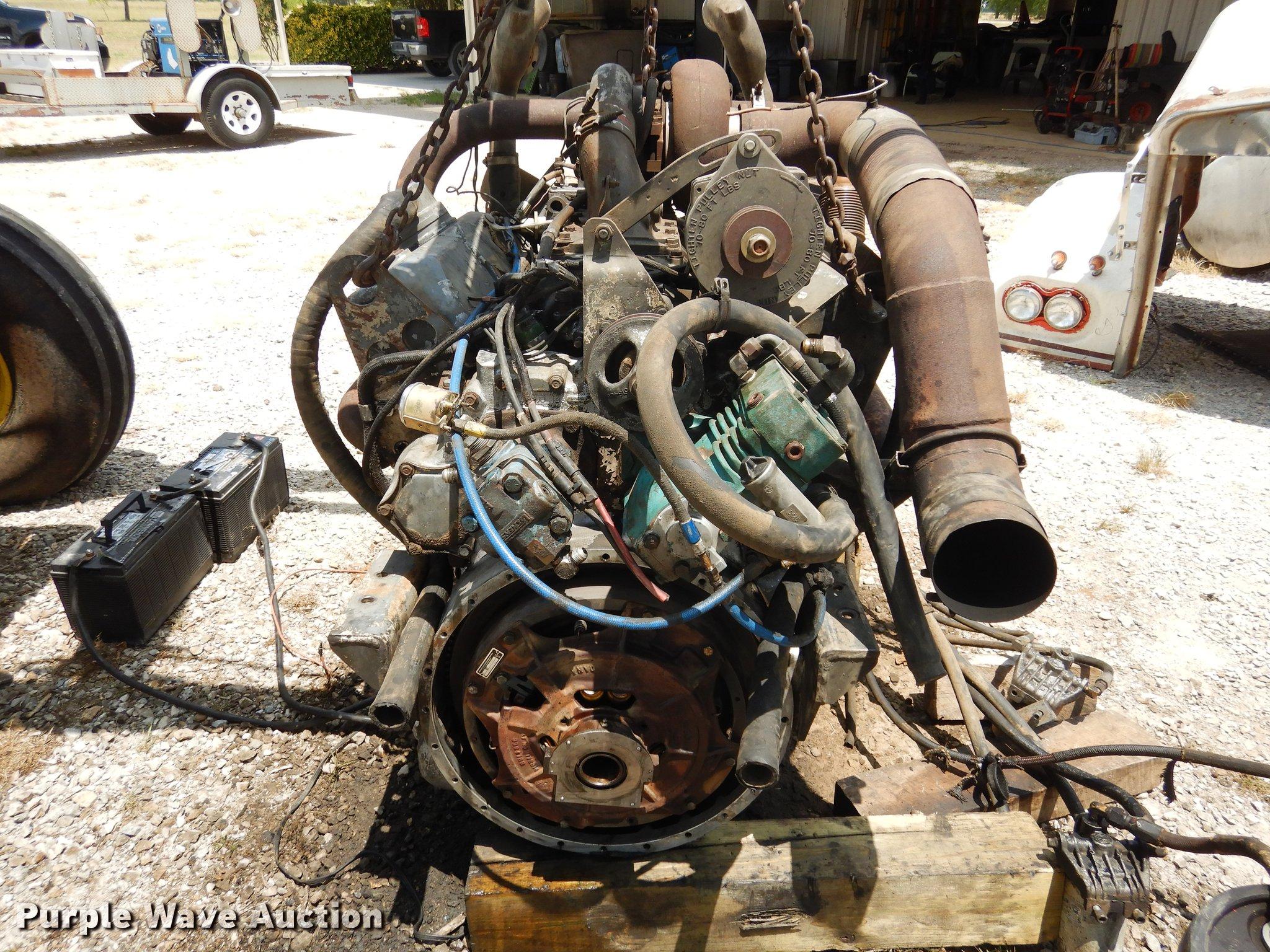 Detroit Diesel 8V92 12 6L eight cylinder diesel engine | Ite